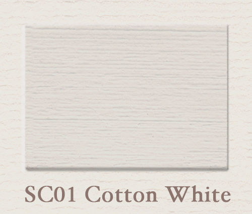 Painting the Past - SC 01 Cotton White