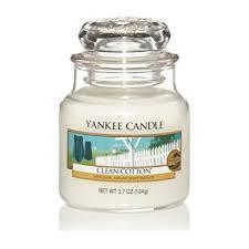 Yankee Candle Small Jar Clean Cotton