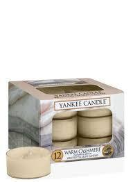 Yankee Candle Tealights 12pcs Warm Cashmere