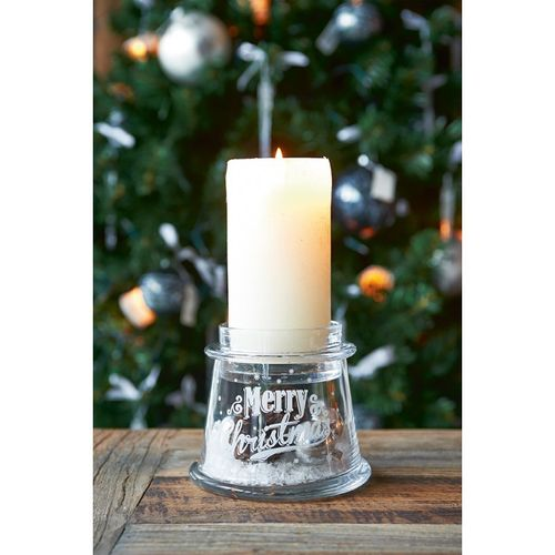 Merry Christmas Decoration Votive