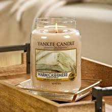 Yankee Candle Large jar Warm Cashmere