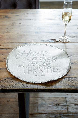 Have A Very Lovely Christmas Placemat